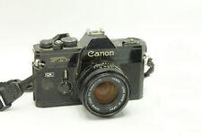 *Untested* Vintage Canon FTb QL SLR Camera 50mm 1.8 Lens