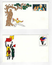 PRC  China 1982 JF1 JF2  Namibia Day &  World Assembly  Stamped Envelope