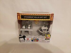 Disney Tsum Tsum Steamboat Willie Gift Set Exclusive 90 Yrs./Mickey Mouse Jakks