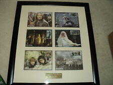 Lord of the rings return of the king framed stamp collection westminster 106 of