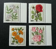 Germany Roses 1982 Plant Flora Love Valentines (stamp) MNH
