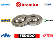 COPPIA DISCHI FRENO POSTERIORE DDF929 BREMBO 08716514 VW GOLF IV POLO SEAT IBIZA