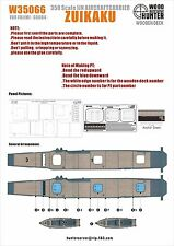 Hunter 1/350 W35066 Wood deck IJN Zuikaku for Fujimi