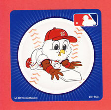 10 Washington Nationals Mascot - Large Stickers - Major League Baseball