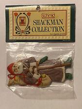 1986;Schmid B. Shackman Santa Claus Figural Xmas Ornament Christmas Décor