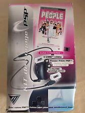 PSP Travel Pack - Kit de voyage + UMD Video Jet-Set 2: People