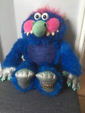 Vintage Mi Mascota Monster Blanda Juguete por Big Time Toys 2008 * * No Caja de voz en funcionamiento