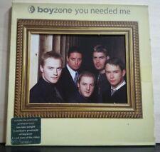 BOYZONE - YOU NEEDED ME  3 TRACKC VERSION + TRccia video 3  postcards - 1999