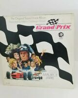 GRAND PRIX ~ LP SOUNDTRACK (1966) MAURICE JARRE ~ MGM S1E-8 ST