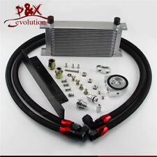 Fit Nissan Fairlady Z 350Z Z33 370Z Z34 19 Row Bolt On Oil Cooler Kit