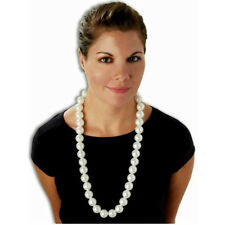 Jumbo Pearls Fake Pearl Necklace Costume Accessory