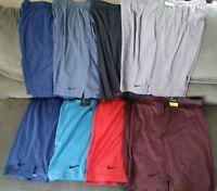 Men's Nike Training Dry Dri-Fit Athletic Shorts Soft S M L XL XXL XXXL XXXL TALL