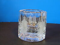Crystal Frosted Christmas Tree Votive Candle Holder Iitalla?