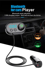 Bluetooth FM Transmitter Car Kit MP3 Player Radio Adapter Super Fast USB Charger