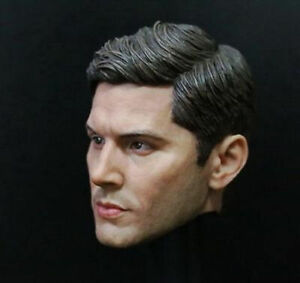Supernatural Dean Winchester Head Carving 1/6 scale Male Action Figure Head Toys