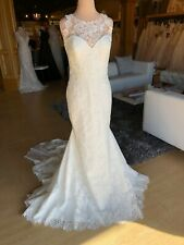 Pronovias Wedding Dress- Morella, Off white/Cristal, Size 14, NWOT