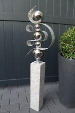 Skulptur Edelstahlkugeln