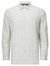 John Lewis & Partners Marl Check Shirt Grey L