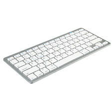 Bluetooth 3.0 Wireless Keyboard for Apple iPad-1 1 2 3 4 Mac Computer PC Macbook