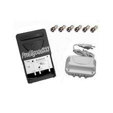 Amplificateur TNT complet , JOHANSSON extérieur - intérieur KIT 7403 + fiches F