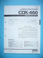 Service Manual für Yamaha CDX-460  ,ORIGINAL