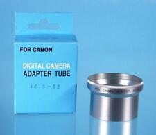 Soligor anello di collegamento/Step Down Anello 46,5 - Adattatore 52mm per Canon - (0301)