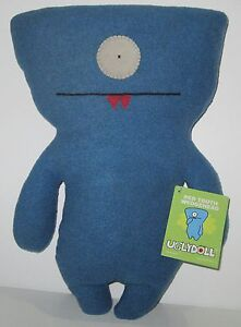 """RARE!! Blue 12"""" RED TOOTH WEDGEHEAD UGLYDOLL! LIMITED EDITION OF 200!! BRAND NEW"""