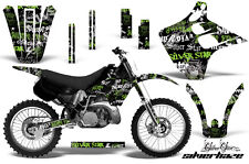 KAWASAKI KX 125/250 Graphic Kit AMR Racing Decal Sticker KX125 KX250 90-91 SH BG
