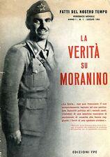 Fatti del nostro Tempo LA VERITÀ SU MORANINO 1965