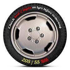 "16"" Citroen Relay Wheel Trims, Hub caps, Wheel Covers - Set of 4. Silver Finish"