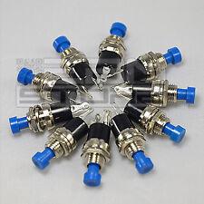 10 pz pulsante miniatura BLU da pannello normalmente aperto - ART. ER06
