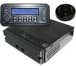 NEW Remote Radio SECRETAUDIO SST Hidden Stereo Aux, USB input *c