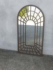 SUPERB 1 m high PROVINCIAL garden perspective rust FRENCH 3D  full MIRROR   NEW