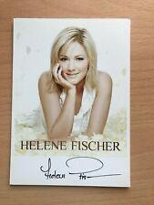 Helene Fischer Schlager Autogrammkarte original signiert +2238