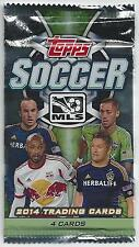 (HCW) 2014 Topps MLS Soccer Cards Pack - Look for Auto, Jersey, Dual Cards
