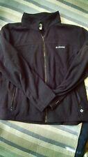 Columbia Womens Fleece Jacket PLUS SIZE 2X Black