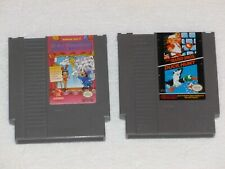 TRICK SHOOTING & DUCK HUNT +SMB - 2 Cartridges - TESTED and WORKING NES, 1990
