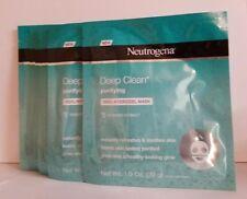 Neutrogena Deep Clean Purifying  100% HydroGel Mask 1 oz, 6X