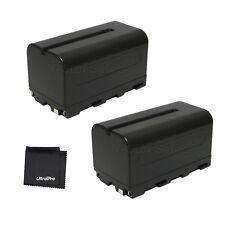 2x NP-F750 NPF750 Battery + BONUS for Sony DCR-TRV900 VX2000 VX2100 FX1 FX7