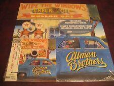 ALLMAN BROTHERS WINDOWS JAPAN OBI REPLICA GATEFOLD JACKET+180 GRAM MASTERED LP'S