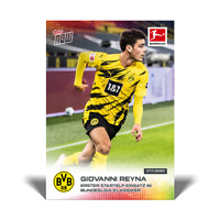 Topps Now Bundesliga 2020-21 - Card 040 - Giovanni Reyna - Borussia Dortmund