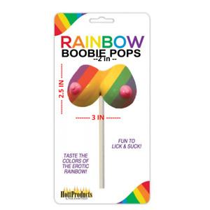 Bachelorette Bachelor Rainbow Candy Party Favor Supplies Pops