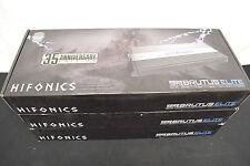 Hifonics BE352500.1D Brutus Elite Amplifier 2500 Watt 35th Anniv CLASS D Car Amp