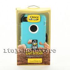 OtterBox Defender iPhone 6 Plus iPhone 6s Plus Case w/Belt Clip Teal Blue White