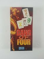 Brand New Sealed Gang Of Four Strategy Card Game Days Of Wonder Multilingual
