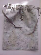 Winter Glittery Twigs, Tarot Runes Crystals Angel Bag Pagan Wiccan