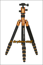 MeFoto RoadTrip A1350Q1 Aluminium Tripod Monopod Kit ORANGE * EXPRESS SHIP