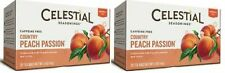 Celestial Seasonings Country Peach Passion Tea 2 Box Pack