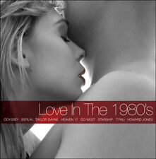 Love in the Eighties 3 CD music hits boxset of romantic 1980s pop Songs
