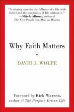 Why Faith Matters by David J. Wolpe (soft cover)